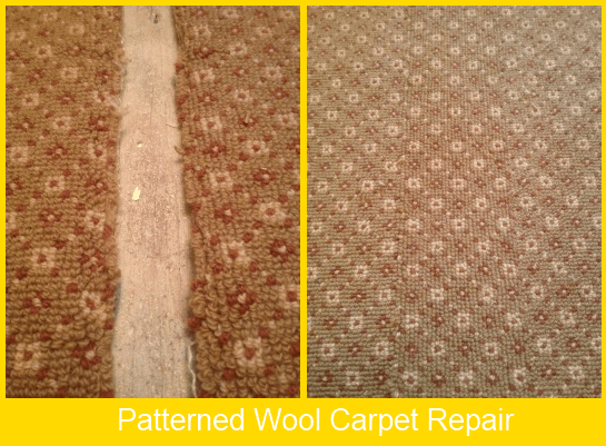 Wool Carpet Repair
