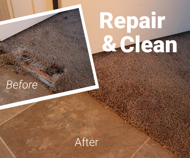 Dallas Carpet Repair | Don't Replace it! Repair it!